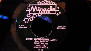 Temptations - Your Wonderful Love - Early Temptations Ballad - 1961