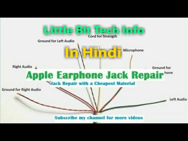 apple iphone earphones & earpods jack repair || headphone repair - youtube  youtube