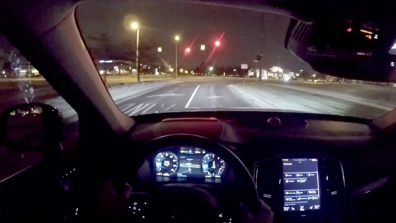2016 Volvo Xc90 T6 Awd Inscription Wr Tv Pov Night Drive