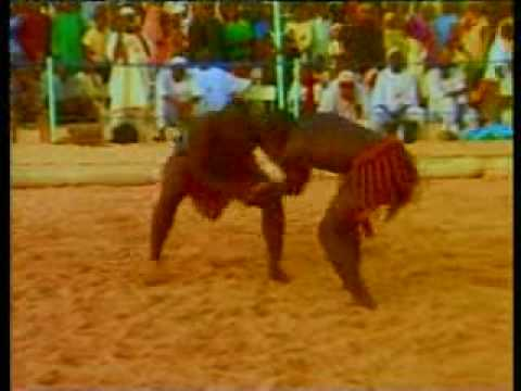 Lutte traditionnelle du Niger