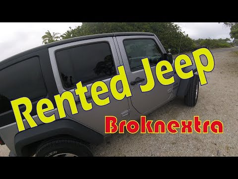 Broknextra - Take The Rental Jeep Off Road In Hawaii