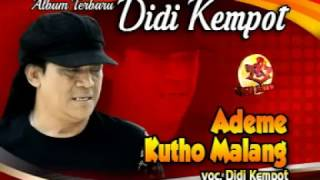 Download Didi Kempot | Ademe Kutho Malang | Lagu Ambyar