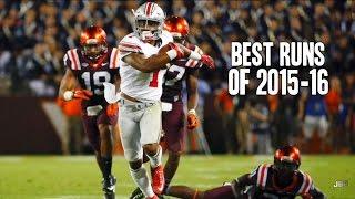 Best Runs of the 2015-16 College Football Season ᴴᴰ