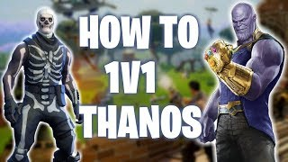 Easy Guide to Killing Thanos in a 1v1 (PS4 Pro) Fortnite Infinity Gauntlet Mode