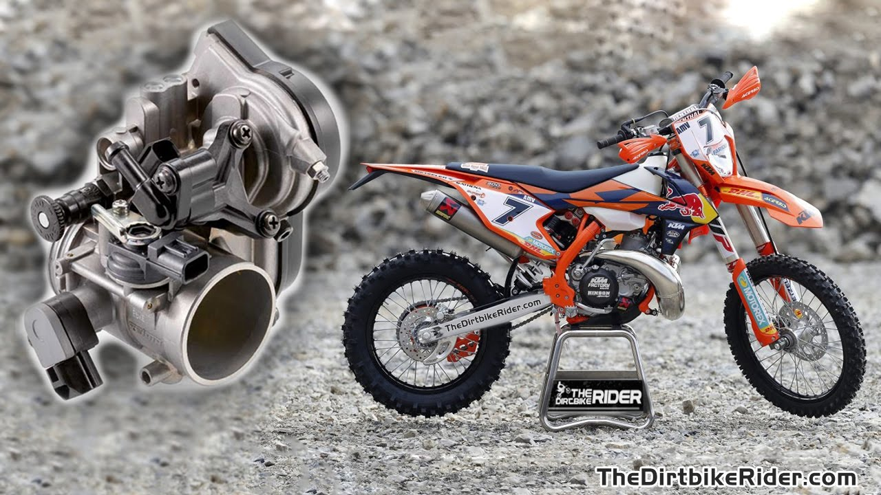 2018 ktm motocross bikes. exellent bikes ktm exc 250 u0026 300 efi 2018  spy leaked throughout ktm motocross bikes