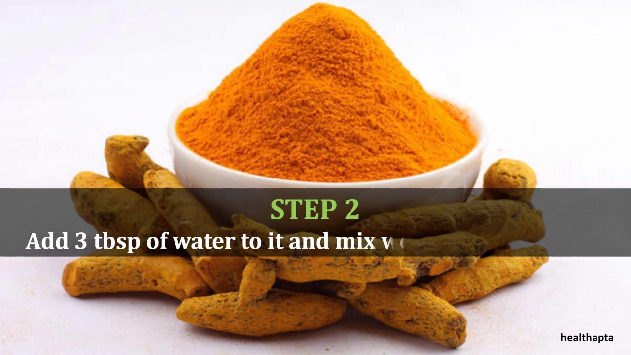 Turmeric Powder to Treat Shingles - YouTube