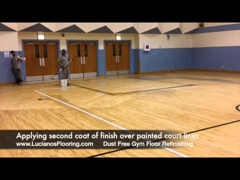 Children of Peace School - Dustless Gym Floor Sanding