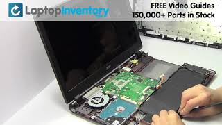 Acer Aspire Battery Replacement Guide replace repair fix Install Laptop E5 ES1 F5 V3 P257