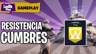 RESISTANCE WOOD TICS WITH CENIT UNDER ZERO ? FORTNITE SAVE THE WORLD Spanish Gameplay