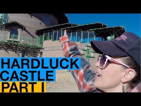 Hardluck Castle: Hand-built Off-Grid Fortress in the Nevada Desert PART I