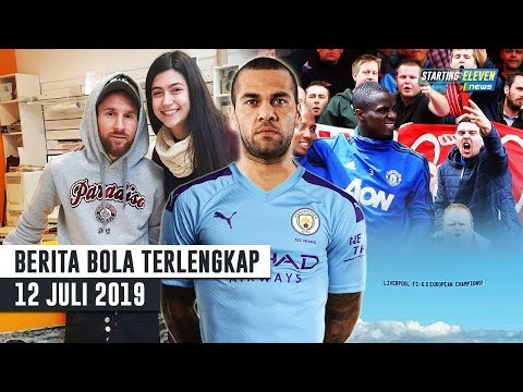 Dani Alves Ke Manc City 😱 Fans Liverpool Ejek Pemain MU 🤔 Messi Bikin Kejutan Di Mall