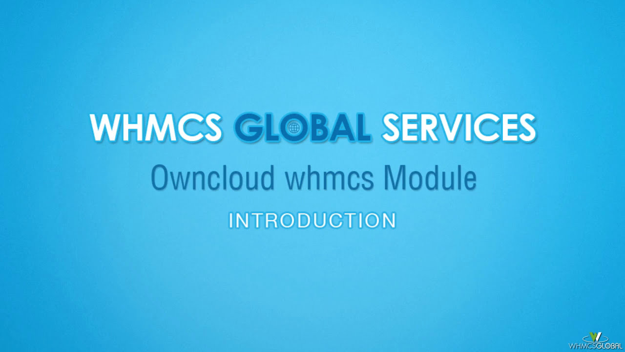 Owncloud Whmcs Module Demo Owncloud Whmcs Provisioning Module Demo