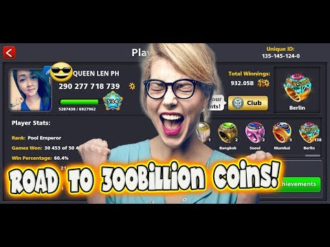 8 Ball Pool- Trickshot Highlights-Featuring Prince Eslam-Road To 300B