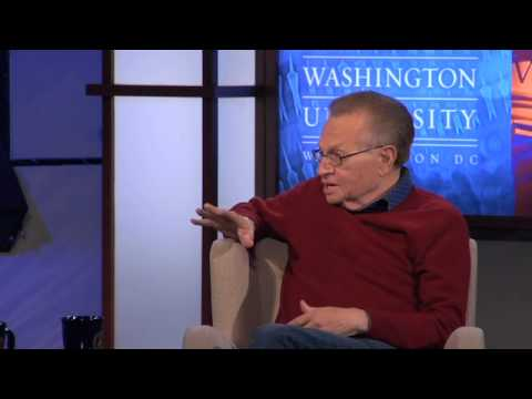 Larry King - Journalism as an Entertainment Business (4 of 7)