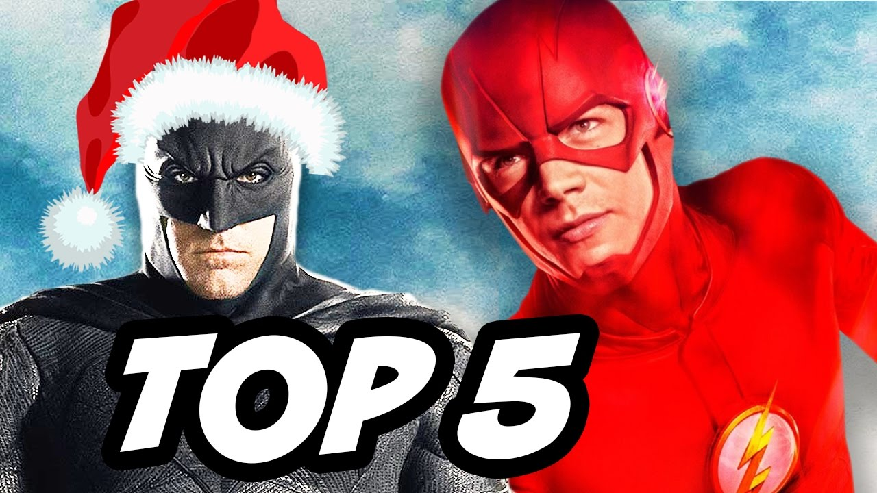 The Flash and Justice League Save Christmas TOP 5 Stories - YouTube
