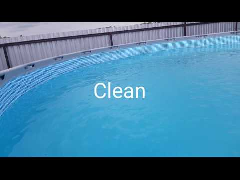 """4 easy steps to clean """"cloudy"""" above ground pool"""