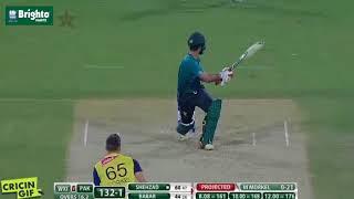 Ahmad Shehzad Innings Pakistan vs World XI 3rd T20