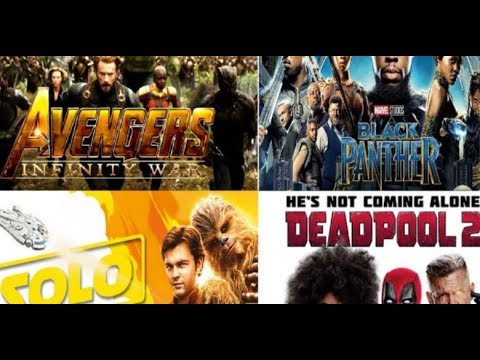 Top 12 Highest Grossing Movies of 2018 #Best Movies # New Upcoming Movies # Action Movies