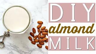 HOMEMADE ALMOND MILK | Easy, Healthy, & Tasty Recipe!