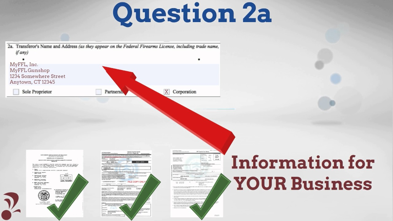 FFL Tutorial - ATF Form 3 NFA Transfers to Other SOTs - YouTube