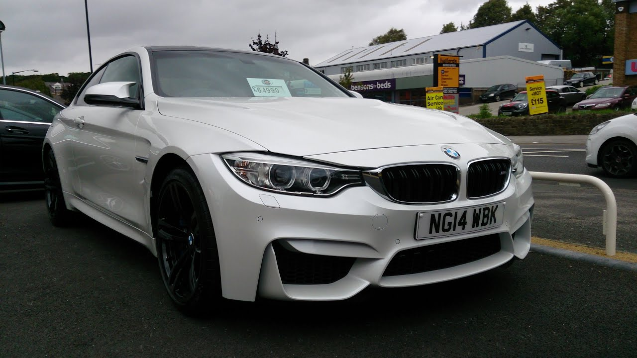 BMW M4 Coupe - Interior and Exterior Tour + Sound - YouTube