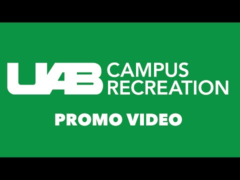 UAB Campus Recreation Promo