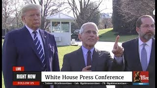 WE DEVELOPED A VACCINE: Dr Fauci CLASHES with the Media at URGENT Press Conference with Trump