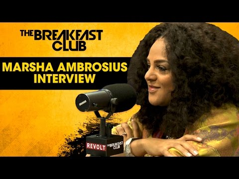 Marsha Ambrosius Dishes On Floetry Drama, Motherhood & Baby-Making Music