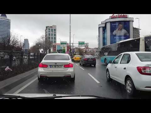 İstanbul Mecidiyeköy ve Baltalimanı Drive Timelapse 2018