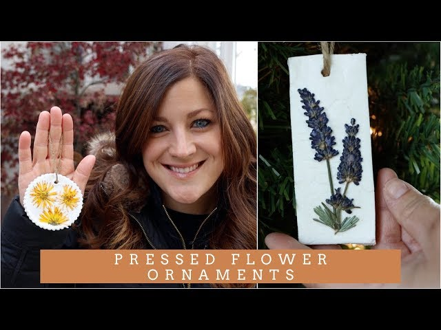 Pressed Flower Ornaments! // Garden Answer