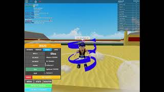 All the transformations I have for now (Roblox Dragon Boll Rage)
