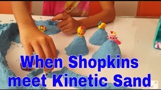 PLAYDAY || When Shopkins meet Kinetic Sand //15jan2016/thezunafamily vlogs