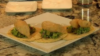 Halibut Fish Tacos With Guacamole Sauce Recipe : Exotic Dishes