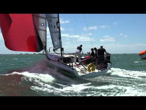 MC31s at Geelong Festival of Sails – Day 3 Downwind Action