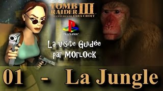 Tomb Raider 3 sur PS - 01 - La Jungle [Visite guidée] [No meds] [fr]