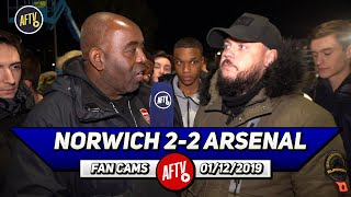 Norwich 2-2 Arsenal | We Need To Go All Out & Get Brendan Rodgers From Leicester!  Dt
