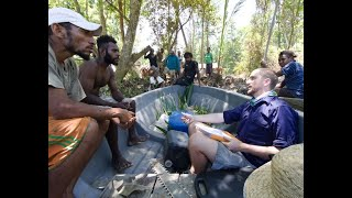 Michael Grant talks sawfish conservation in Papua New Guinea on International Sawfish Day 2020