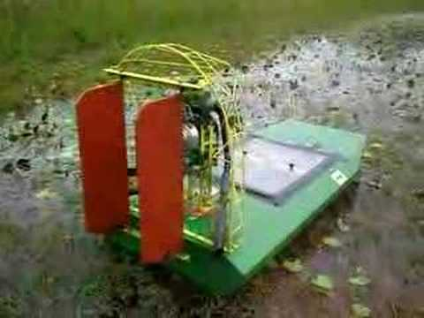 RC AIRBOAT 32CC GAS POWERED REMOTE STARTER DEMO W/SOUND ...