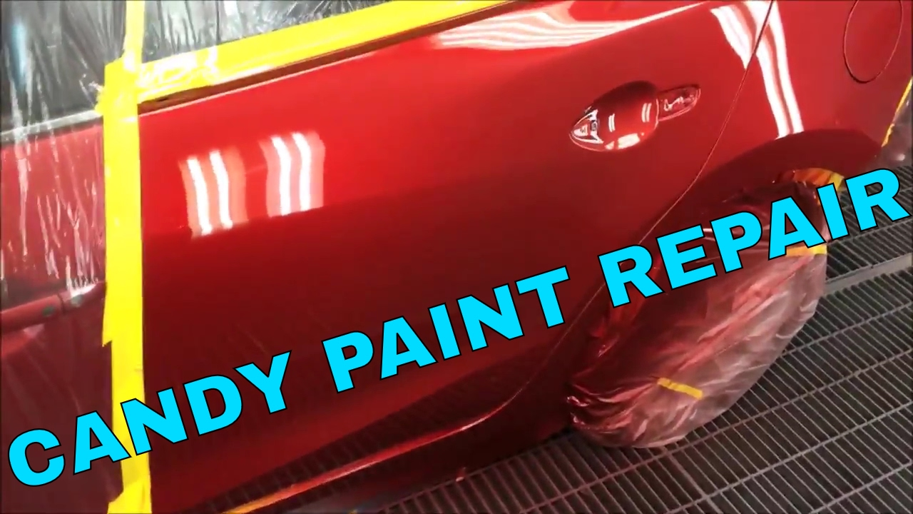How to repaint in red