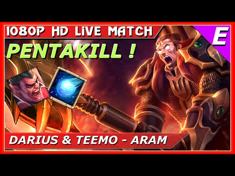 Darius Pentakill ARAM Gameplay Guide League Of Legends