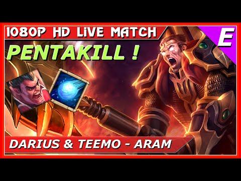 Darius Pentakill ARAM Gameplay Guide League Of Legends
