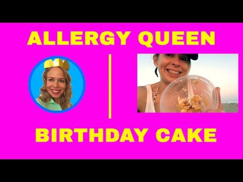 Birthday Cake!  Gluten Free, Dairy Free, PEANUT Free, DELICIOUS And Healthy Cake! #Breakaway Bakery