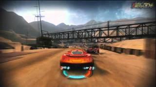 Split Second Xbox 360 - Quarry Track Gameplay