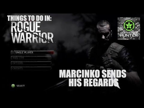 Marcinko Sends His Regards - Rogue Warrior - Things to do in