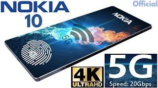 Nokia 10 5G With Under Display Fingerprint Scanner!