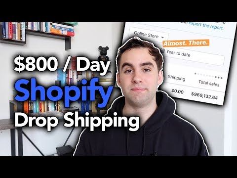 How I Made $800 / Day New Drop Shipping Store | Shopify Drop Shipping
