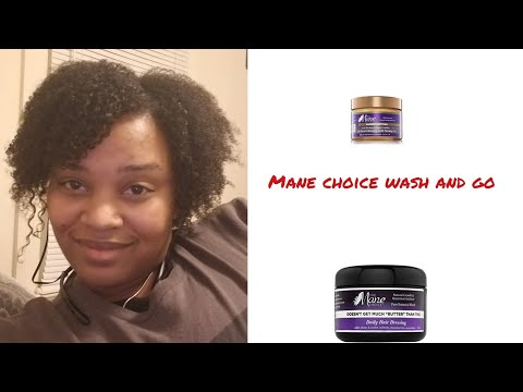 The Mane choice.Wash and go 😯🚿