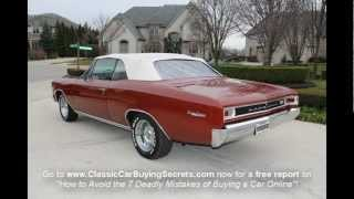 1966 Chevy Malibu Convertible Classic Muscle Car for Sale in MI Vanguard Motor Sales