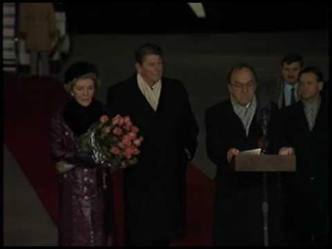 President Reagan's Remarks on his Arrival in Geneva, Switzerland on November 16, 1985