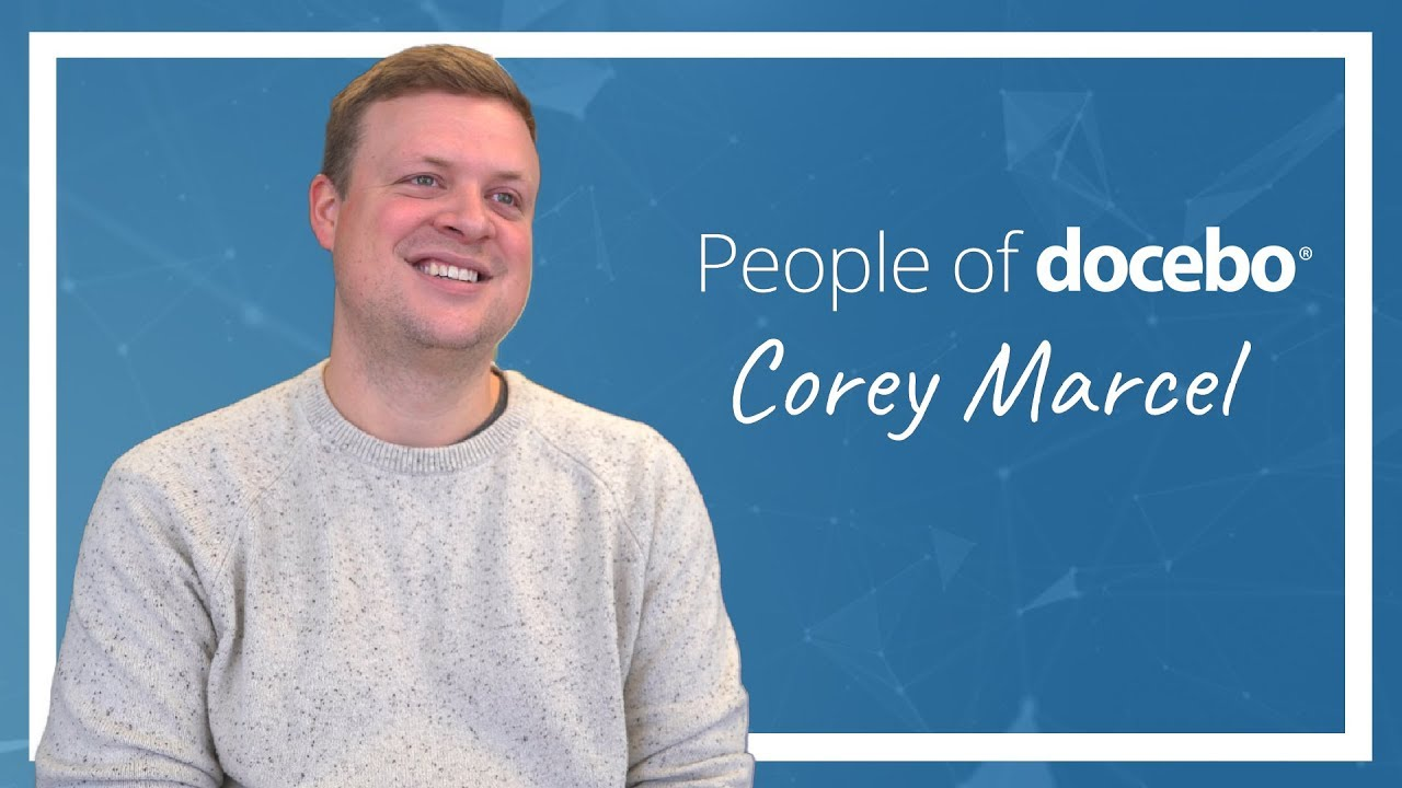 People of Docebo | Corey Marcel